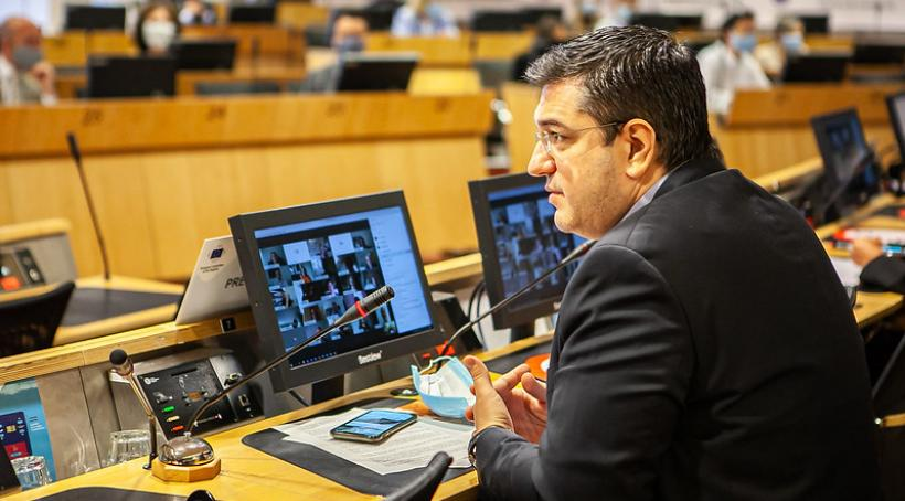 Szef Komitetu Regionów Apostolos Cicikostas © European Union / Giedre Daugelaite
