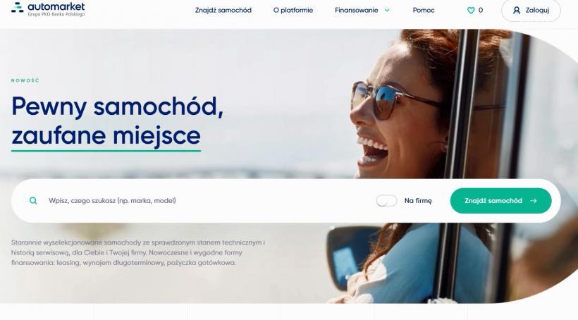 Automarket.pl – PKO BP wchodzi na rynek aut używanych z… dostawą do domu